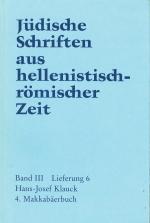 Cover-Bild 4. Makkabäerbuch