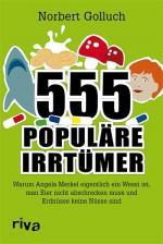 Cover-Bild 555 populäre Irrtümer