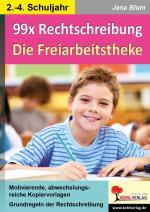 Cover-Bild 99x Rechtschreibung - Die Freiarbeitstheke