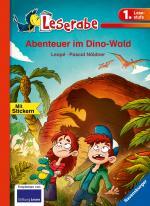 Cover-Bild Abenteuer im Dino-Wald - Leserabe 1. Klasse - Erstlesebuch für Kinder ab 6 Jahren