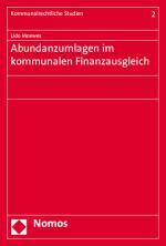 Cover-Bild Abundanzumlagen im kommunalen Finanzausgleich