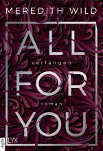 Cover-Bild All for You – Verlangen