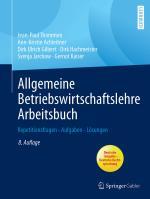 Cover-Bild Allgemeine Betriebswirtschaftslehre Arbeitsbuch