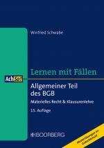 Cover-Bild Allgemeiner Teil des BGB