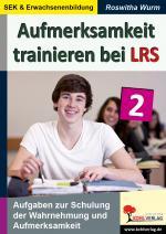 Cover-Bild Aufmerksamkeit trainieren bei LRS