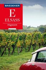 Cover-Bild Baedeker Reiseführer Elsass, Vogesen