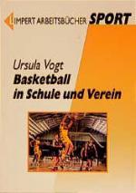 Cover-Bild Basketball in Schule und Verein