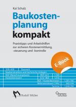 Cover-Bild Baukostenplanung kompakt - E-Book (PDF)