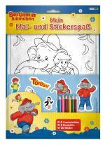Cover-Bild Benjamin Blümchen: Mein Mal- und Stickerspaß