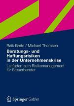 Cover-Bild Beratungs- und Haftungsrisiken in der Unternehmenskrise