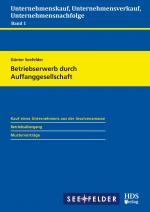 Cover-Bild Betriebserwerb durch Auffanggesellschaft
