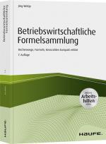 Cover-Bild Betriebswirtschaftliche Formelsammlung - inkl. Arbeitshilfen online