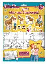 Cover-Bild Bibi & Tina: Mein Mal- und Puzzlespaß