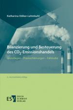 Cover-Bild Bilanzierung und Besteuerung des CO2-Emissionshandels