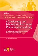 Cover-Bild Bilanzierung und Jahresabschluss in der Kommunalverwaltung