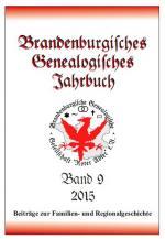 Cover-Bild Brandenburgisches Genealogisches Jahrbuch / Brandenburgisches Genealogisches Jahrbuch 2015