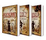 Cover-Bild Buchland Band 1-3: Buchland / Beatrice. Rückkehr ins Buchland / Bibliophilia. Das Ende des Buchlands: Die komplette Trilogie (Paperback)