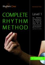 Cover-Bild COMPLETE RHYTHM METHOD - Level 1 (inkl. DVD)