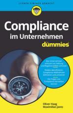 Cover-Bild Compliance im Unternehmen für Dummies