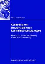 Cover-Bild Controlling von innerbetrieblichen Kommunikationsprozessen