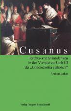 Cover-Bild Cusanus Rechts- und Staatsdenken