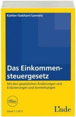Cover-Bild Das Einkommensteuergesetz