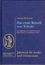 Cover-Bild Das erste Konzil von Toledo (400)