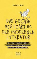 Cover-Bild Das große Bestiarium der modernen Literatur