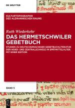 Cover-Bild Das Hermetschwiler Gebetbuch