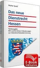Cover-Bild Das neue Dienstrecht Hessen inkl. erweitertem E-Book