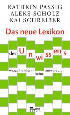 Cover-Bild Das neue Lexikon des Unwissens