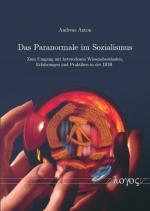 Cover-Bild Das Paranormale im Sozialismus