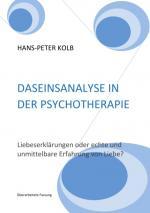 Cover-Bild Daseinsanalyse in der Psychotherapie