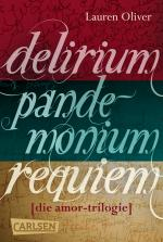 Cover-Bild Delirium – Pandemonium – Requiem: Die Amor-Trilogie als E-Box!