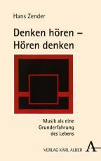 Cover-Bild Denken hören - Hören denken