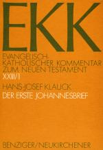 Cover-Bild Der Erste Johannesbrief, EKK XXIII/1
