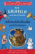 Cover-Bild Der Grüffelo und seine Freunde. Adventskalender mit 24 Minibüchern