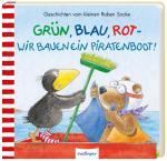 Cover-Bild Der kleine Rabe Socke: Grün, Blau, Rot – wir bauen ein Piratenboot!
