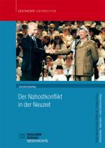 Cover-Bild Der Nahostkonflikt in der Neuzeit