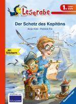 Cover-Bild Der Schatz des Kapitäns - Leserabe 1. Klasse - Erstlesebuch für Kinder ab 6 Jahren