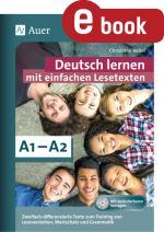 Cover-Bild Deutsch lernen mit einfachen Lesetexten A1-A2
