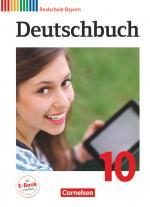 Cover-Bild Deutschbuch - Sprach- und Lesebuch - Realschule Bayern 2011 - 10. Jahrgangsstufe