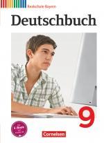 Cover-Bild Deutschbuch - Sprach- und Lesebuch - Realschule Bayern 2011 - 9. Jahrgangsstufe