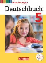 Cover-Bild Deutschbuch - Sprach- und Lesebuch - Realschule Bayern 2017 - 5. Jahrgangsstufe