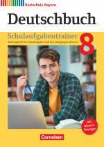 Cover-Bild Deutschbuch - Sprach- und Lesebuch - Realschule Bayern 2017 - 8. Jahrgangsstufe
