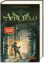 Cover-Bild Die Abenteuer des Apollo 3: Das brennende Labyrinth