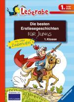 Cover-Bild Die besten Erstlesegeschichten für Jungs 1. Klasse mit toller Zaubertafel