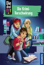 Cover-Bild Die drei !!!, 88, Die Krimi-Verschwörung (drei Ausrufezeichen)