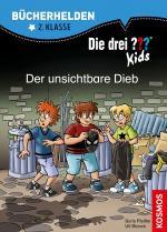 Cover-Bild Die drei ??? Kids, Bücherhelden 2. Klasse, Der unsichtbare Dieb