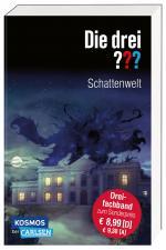 Cover-Bild Die drei ???: Schattenwelt (Dreifachband. Enthält die Bände: Teuflisches Duell, Angriff in der Nacht, Die dunkle Macht)